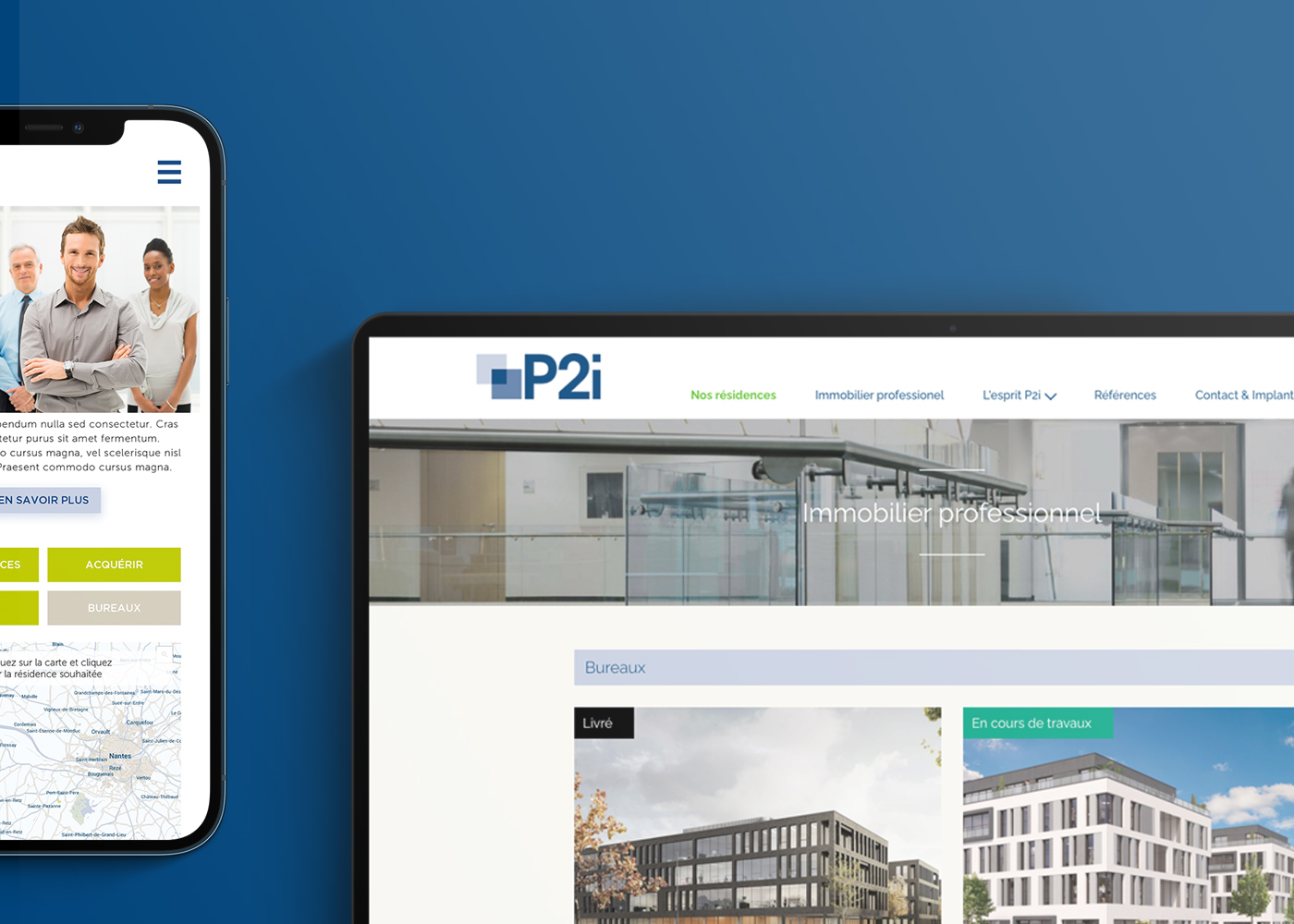 p2i screens