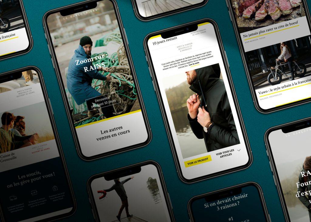 web mobile La Garçonnière 2